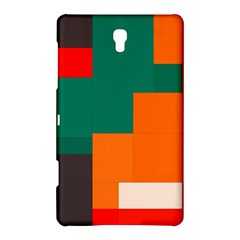 Rectangles And Squares  In Retro Colors                                                                   			samsung Galaxy Tab S (8 4 ) Hardshell Case by LalyLauraFLM