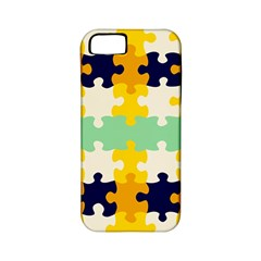 Puzzle Pieces                                                                     			apple Iphone 5 Classic Hardshell Case (pc+silicone) by LalyLauraFLM