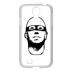 Baldhead Hero Comic Illustration Samsung Galaxy S4 I9500/ I9505 Case (white) by dflcprints