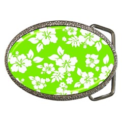 Lime Hawaiian Belt Buckles by AlohaStore