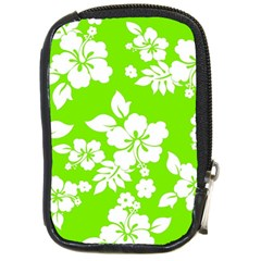 Lime Hawaiian Compact Camera Cases by AlohaStore