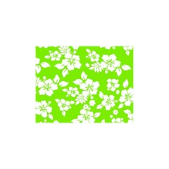 Lime Hawaiian Shower Curtain 48  X 72  (small)  by AlohaStore