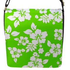 Lime Hawaiian Flap Messenger Bag (s) by AlohaStore