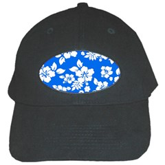 Blue Hawaiian Black Cap by AlohaStore