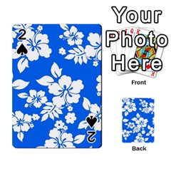 Blue Hawaiian Playing Cards 54 Designs  by AlohaStore
