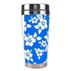 Blue Hawaiian Stainless Steel Travel Tumblers by AlohaStore