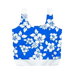Blue Hawaiian Full Print Recycle Bags (m)  by AlohaStore