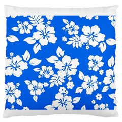 Blue Hawaiian Standard Flano Cushion Case (two Sides) by AlohaStore