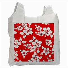 Red Hawaiian Recycle Bag (two Side)  by AlohaStore
