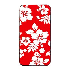 Red Hawaiian Apple Iphone 4/4s Seamless Case (black) by AlohaStore