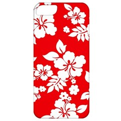 Red Hawaiian Apple Iphone 5 Classic Hardshell Case by AlohaStore