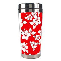 Red Hawaiian Stainless Steel Travel Tumblers by AlohaStore