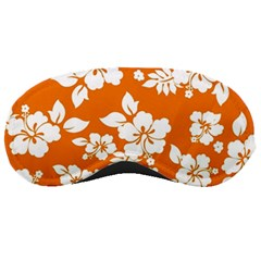 Orange Hawaiian Sleeping Masks by AlohaStore