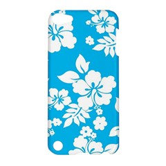Light Blue Hawaiian Apple Ipod Touch 5 Hardshell Case by AlohaStore
