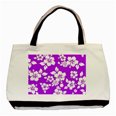 Purple Hawaiian Basic Tote Bag