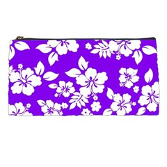 Violet Hawaiian Pencil Cases