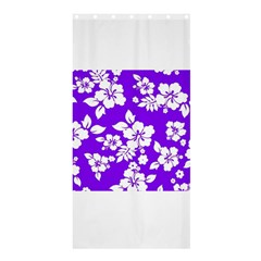 Violet Hawaiian Shower Curtain 36  X 72  (stall)  by AlohaStore