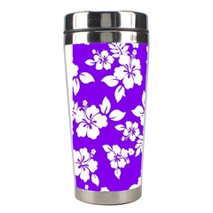 Violet Hawaiian Stainless Steel Travel Tumblers by AlohaStore