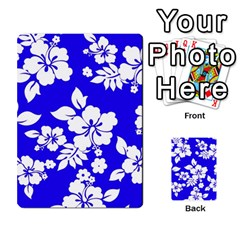 Deep Blue Hawaiian Multi Purpose Cards (rectangle)  by AlohaStore