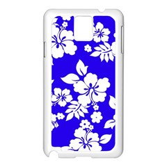 Deep Blue Hawaiian Samsung Galaxy Note 3 N9005 Case (white) by AlohaStore