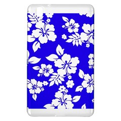 Deep Blue Hawaiian Samsung Galaxy Tab Pro 8 4 Hardshell Case by AlohaStore