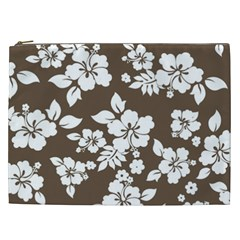 Sepia Hawaiian Cosmetic Bag (xxl)  by AlohaStore