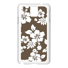 Sepia Hawaiian Samsung Galaxy Note 3 N9005 Case (white) by AlohaStore