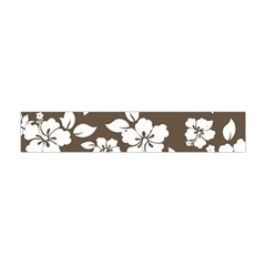 Sepia Hawaiian Flano Scarf (mini) by AlohaStore