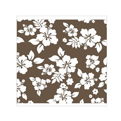 Sepia Hawaiian Small Satin Scarf (square) by AlohaStore