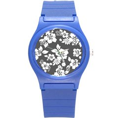 Gray Hawaiian Round Plastic Sport Watch (s) by AlohaStore