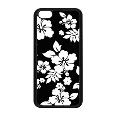Black And White Hawaiian Apple Iphone 5c Seamless Case (black) by AlohaStore