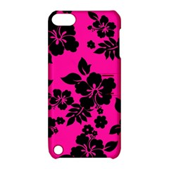 Dark Baby Pink Hawaiian Apple Ipod Touch 5 Hardshell Case With Stand by AlohaStore