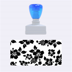Blue Dark Hawaiian Rubber Stamps (medium)