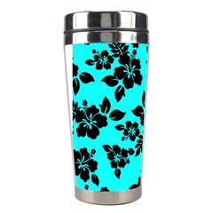Blue Dark Hawaiian Stainless Steel Travel Tumblers by AlohaStore