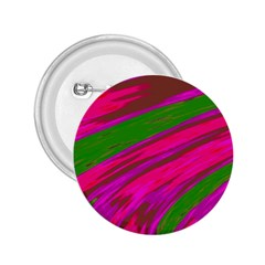 Swish Bright Pink Green Design 2 25  Buttons by BrightVibesDesign