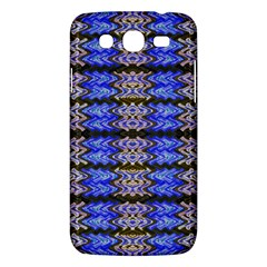 Pattern Tile Blue White Green Samsung Galaxy Mega 5 8 I9152 Hardshell Case  by BrightVibesDesign