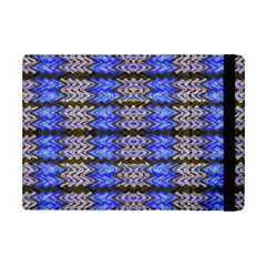 Pattern Tile Blue White Green Ipad Mini 2 Flip Cases by BrightVibesDesign