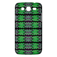 Pattern Tile Green Purple Samsung Galaxy Mega 5 8 I9152 Hardshell Case  by BrightVibesDesign