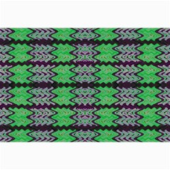 Pattern Tile Green Purple Collage Prints by BrightVibesDesign