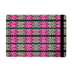 Pattern Tile Pink Green White Ipad Mini 2 Flip Cases by BrightVibesDesign