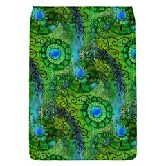 Emerald Boho Abstract Flap Covers (s)  by KirstenStar