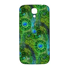 Emerald Boho Abstract Samsung Galaxy S4 I9500/i9505  Hardshell Back Case