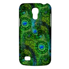Emerald Boho Abstract Galaxy S4 Mini by KirstenStar