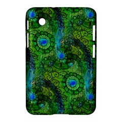 Emerald Boho Abstract Samsung Galaxy Tab 2 (7 ) P3100 Hardshell Case  by KirstenStar