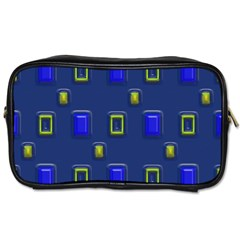 3d Rectangles                                                                      			toiletries Bag (one Side) by LalyLauraFLM
