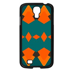 Rhombus And Other Shapes                                                                      			samsung Galaxy S4 I9500/ I9505 Case (black) by LalyLauraFLM