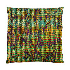 Multicolored Digital Grunge Print Standard Cushion Case (one Side) by dflcprints