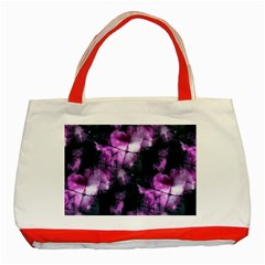 Celestial Purple  Classic Tote Bag (red) by KirstenStar