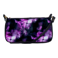 Celestial Purple  Shoulder Clutch Bags by KirstenStar