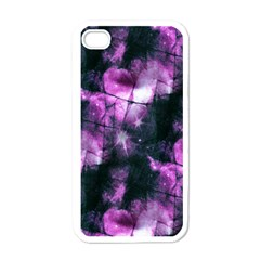Celestial Purple  Apple Iphone 4 Case (white) by KirstenStar